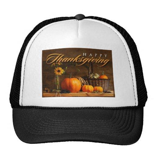 happy thanks giving 2013 celebration trucker hat