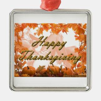 happy thanks giving 2013 celebration metal ornament