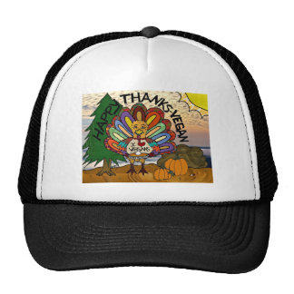 Happy Thanks-Vegan Thanksgiving Turkey Gifts Hat