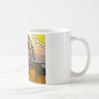 Happy Thanks-Vegan Thanksgiving Turkey Gifts Coffee Mug