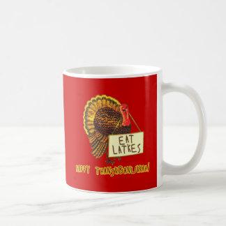 Happy Thanksganukkah EAT LATKES Coffee Mug