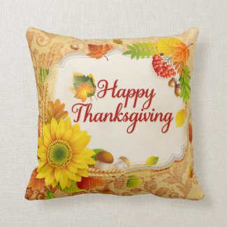 Happy Thanksgiving 13 Pillow