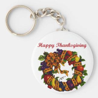Happy Thanksgiving 1 Keychain