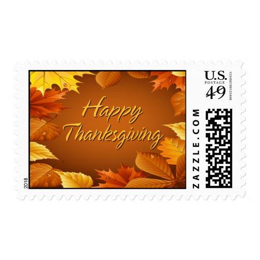 Happy Thanksgiving 1 Postage
