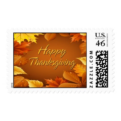 Happy Thanksgiving 1 Postage