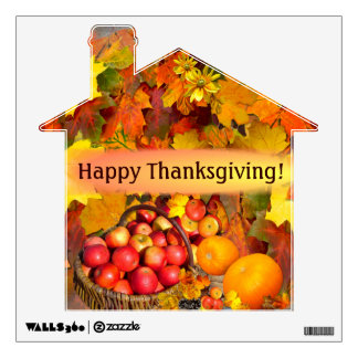 Happy Thanksgiving # 2 ~  Decal Room Decals