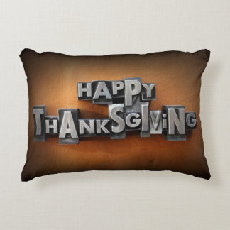 Happy Thanksgiving 2 Accent Pillow