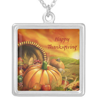 Happy Thanksgiving 2 Necklace