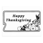 Happy Thanksgiving 2 Post Cards