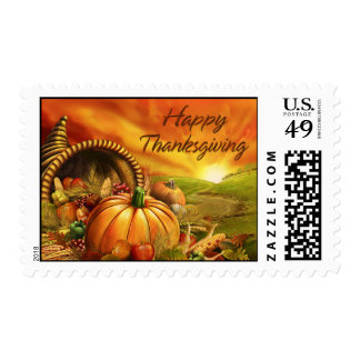 Happy Thanksgiving 2 Postage
