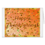 Happy Thanksgiving 3 Greeting Card