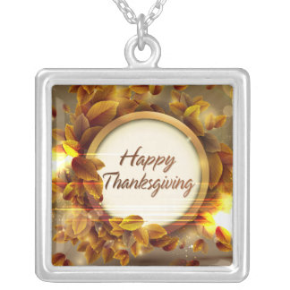 Happy Thanksgiving 3A Necklace