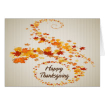 Happy Thanksgiving 4 Card