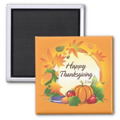 Happy Thanksgiving 5 Magnet