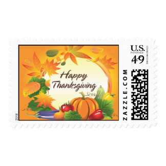 Happy Thanksgiving 5 Postage