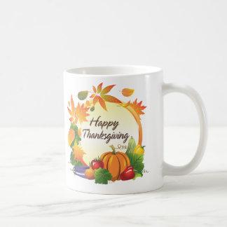 Happy Thanksgiving 5A Mug