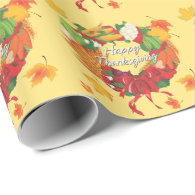 Happy Thanksgiving 6A Wrapping Paper