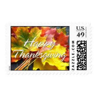 Happy Thanksgiving 7 Postage