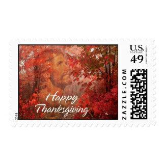 Happy Thanksgiving 9 Postage