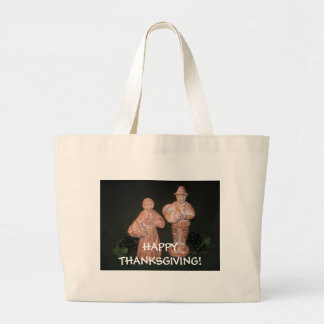 Happy Thanksgiving! Tote Bags