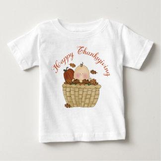 Happy Thanksgiving Basket Baby Gift Baby T-Shirt