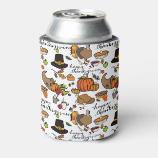 Happy Thanksgiving Beer/Soda Cooler