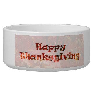 Happy Thanksgiving Bowl