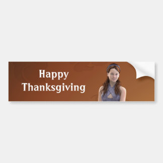 Happy Thanksgiving Bree Bumper Stickers