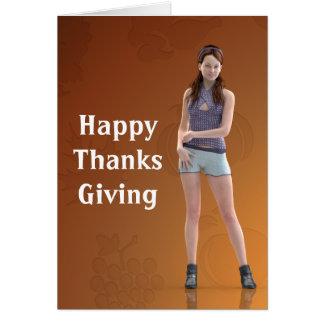 Happy Thanksgiving Bree Card