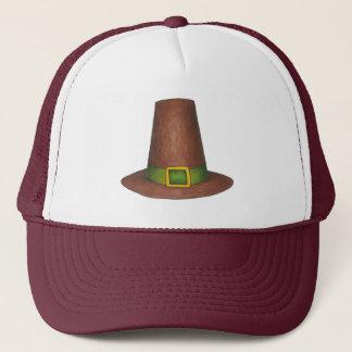 Happy Thanksgiving Brown Pilgrim Puritan Hat Hat