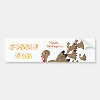 Happy Thanksgiving Bumper Sticker