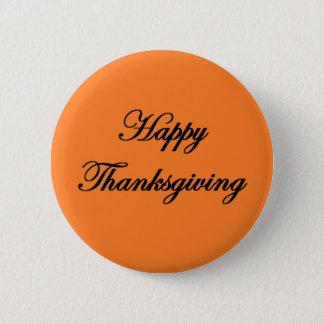 """Happy Thanksgiving"" Button"