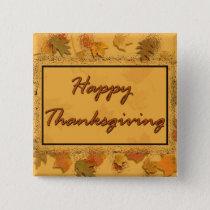 Happy Thanksgiving Button