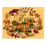 HAPPY THANKSGIVING by SHARON SHARPE Post Cards