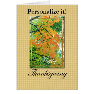 Happy Thanksgiving Cards and Gifts