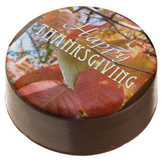 Happy Thanksgiving Chocolate Covered Oreo