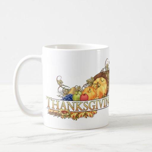 Happy Thanksgiving - Classic White Coffee Mug