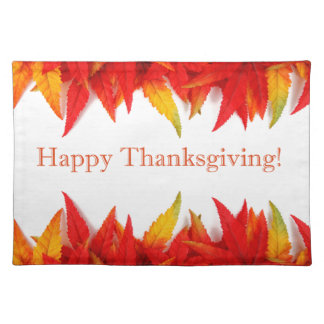 Happy Thanksgiving! Cloth Placemat