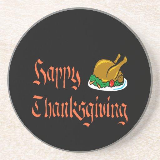 Happy Thanksgiving Coaster