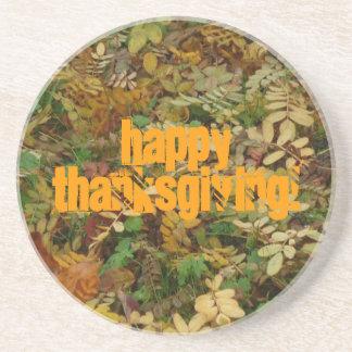 Happy Thanksgiving! - Coaster / Untersetzer