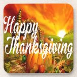 Happy Thanksgiving Coasters