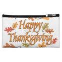 Happy Thanksgiving Cosmetics Bags