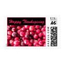 Happy Thanksgiving Cranberry Stamps