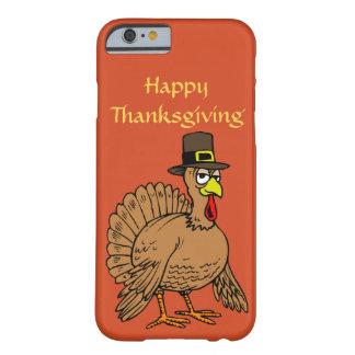 Happy Thanksgiving Cute Turkey Pilgrim Cartoon iPhone 6 Case