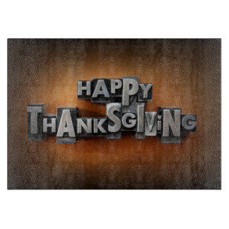 Happy Thanksgiving Cutting Board