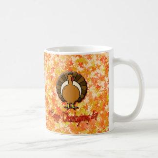 Happy Thanksgiving day mug. Coffee Mug