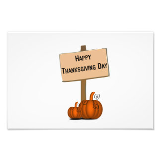 Happy Thanksgiving day Art Photo