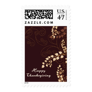 Happy Thanksgiving Day Postage