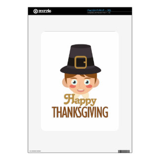 Happy Thanksgiving Decals For iPad