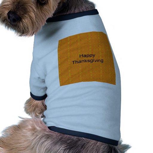 Happy Thanksgiving Doggie Tshirt